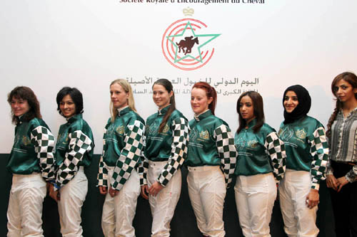 ladies riders of shaikha fatima ladies world championship