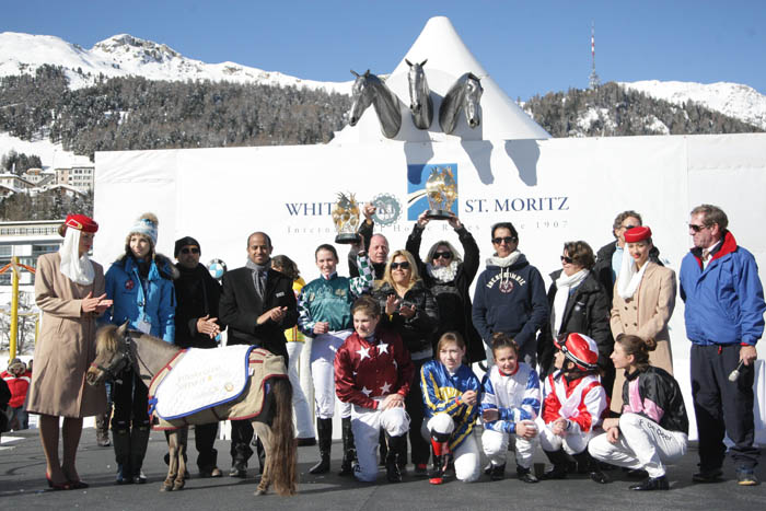 Phraseur Kossack dazzles in HH Sheikha Fatima Championship at White Turf