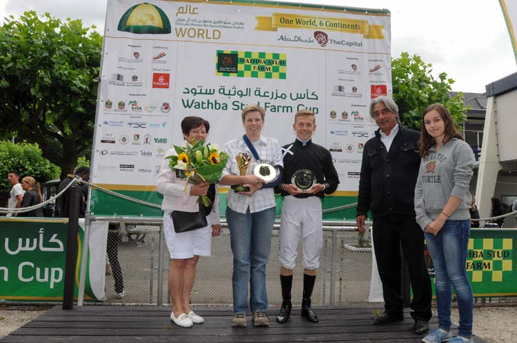 Hania DA wins Wathba Stud Farm Cup IV in The Netherlands