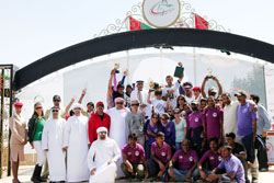 Uruguay's Iriarte wins 100-km Sheikh Mohammed bin Mansoor Endurance Cup for second successive year