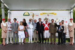 Ameretto wins Sheikh Zayed Bin Sultan Al Nahyan Cup European Triple Crown for fourth year in-a-row