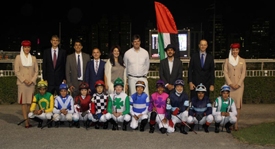 Brazilian and international jockeys