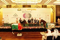 Official draw for world's richest Purebred Arabian horse race held in Abu Dhabi