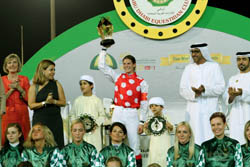 Victories by Swiss lady, Australian teenager reflect global character of HH Sheikh Mansoor Festival